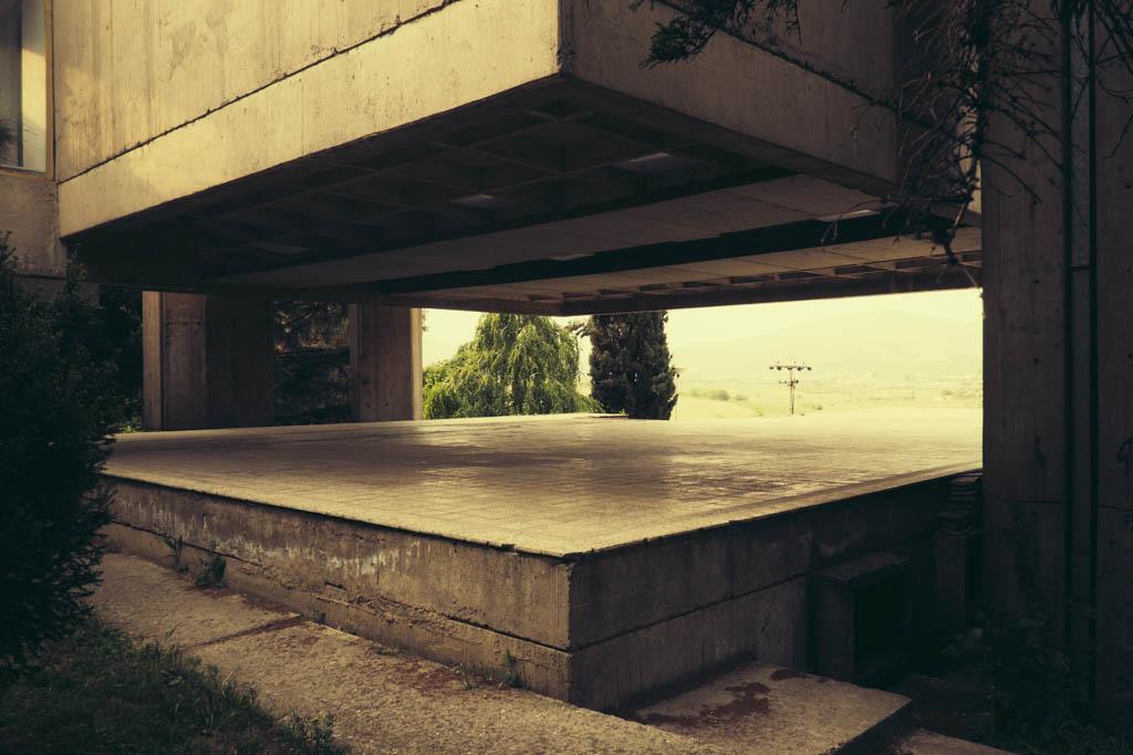 SKOPJE STATE HYDROMETEOROLOGICAL INSTITUTE. ARCHITECT – KRSTO TODOROVSKI, 1975.